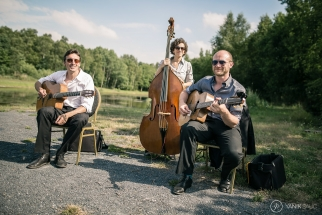 Groupe de jazz manouche pour animer votre mariage à Lille.