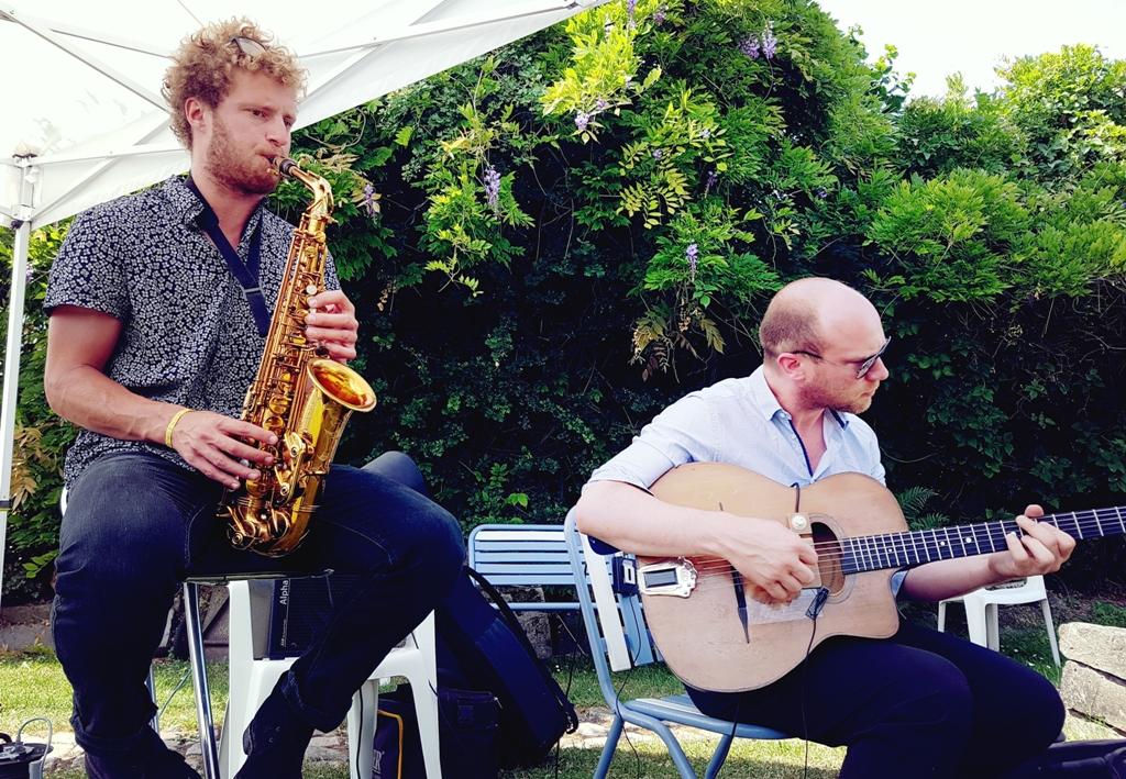 saxophoniste à Lille